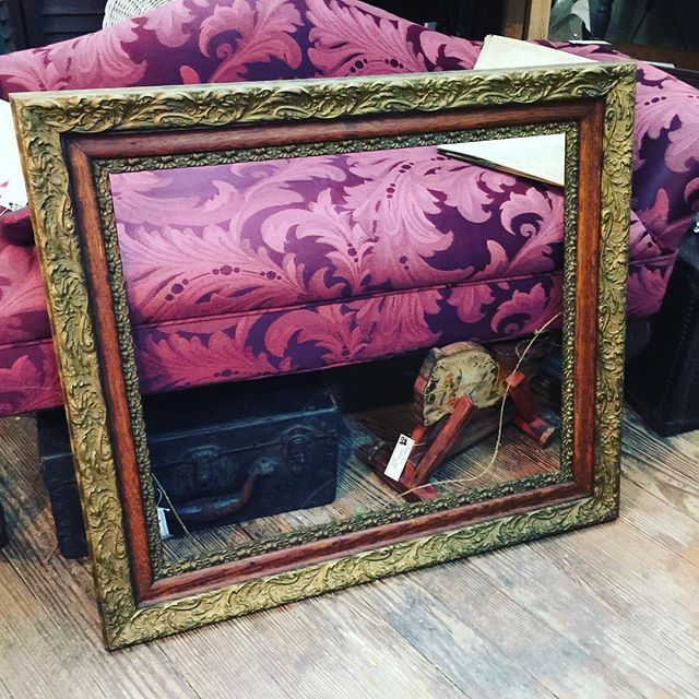 Super Nice Antique Gold Ornate Wood Picture Frame 31 X27 Outside 20 25 X 24 25 Inner Setting I Ha Antiques Repurposed Wood Picture Frames Ornate Frame