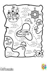 Mapa Pirata Para Colorear Mapas De Piratas Dibujos De Piratas Mapas Del Tesoro