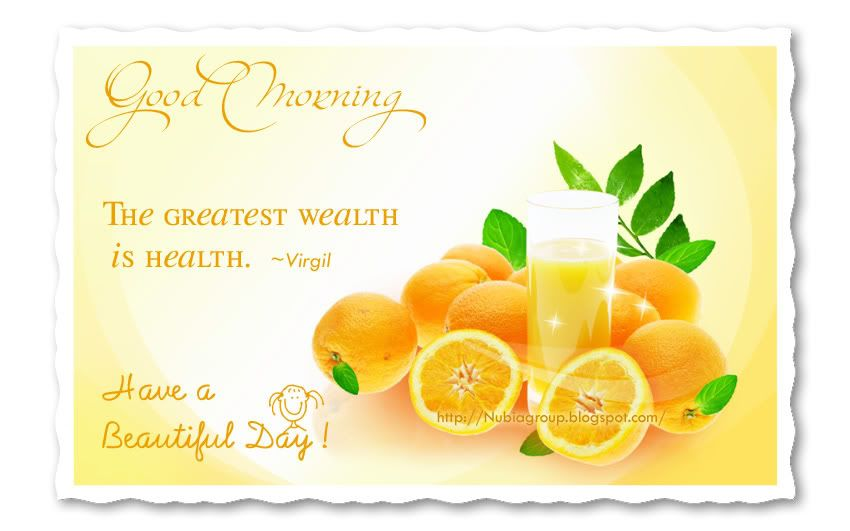 Healthy Good Morning Quotes: ... Morning Nubia_group - Start