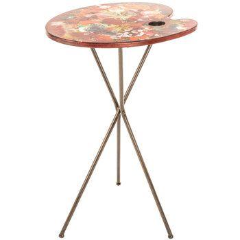 Delicieux Paint Palette Wood Table   Got Me This!