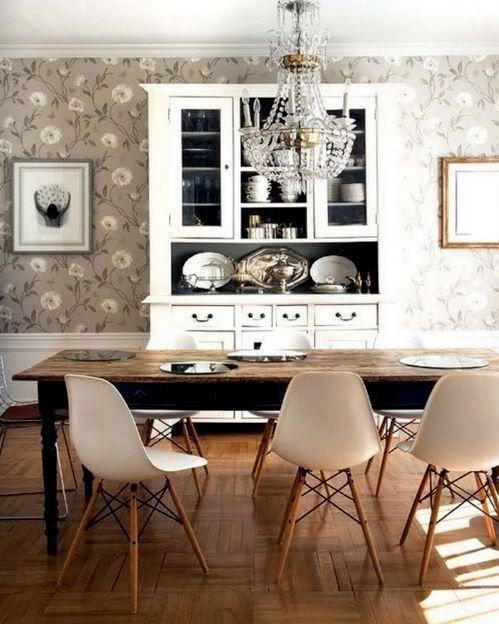 Mmilo Eiffel Inspired Modern Contemporary Dining Chair Retro Design ...