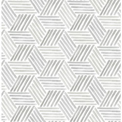 Scott Living 30 75 Sq Ft Taupe Grey Vinyl Geometric Self Adhesive Peel And Stick Wallpaper Lowes Com Peel And Stick Wallpaper Self Adhesive Wallpaper Geometric Wallpaper
