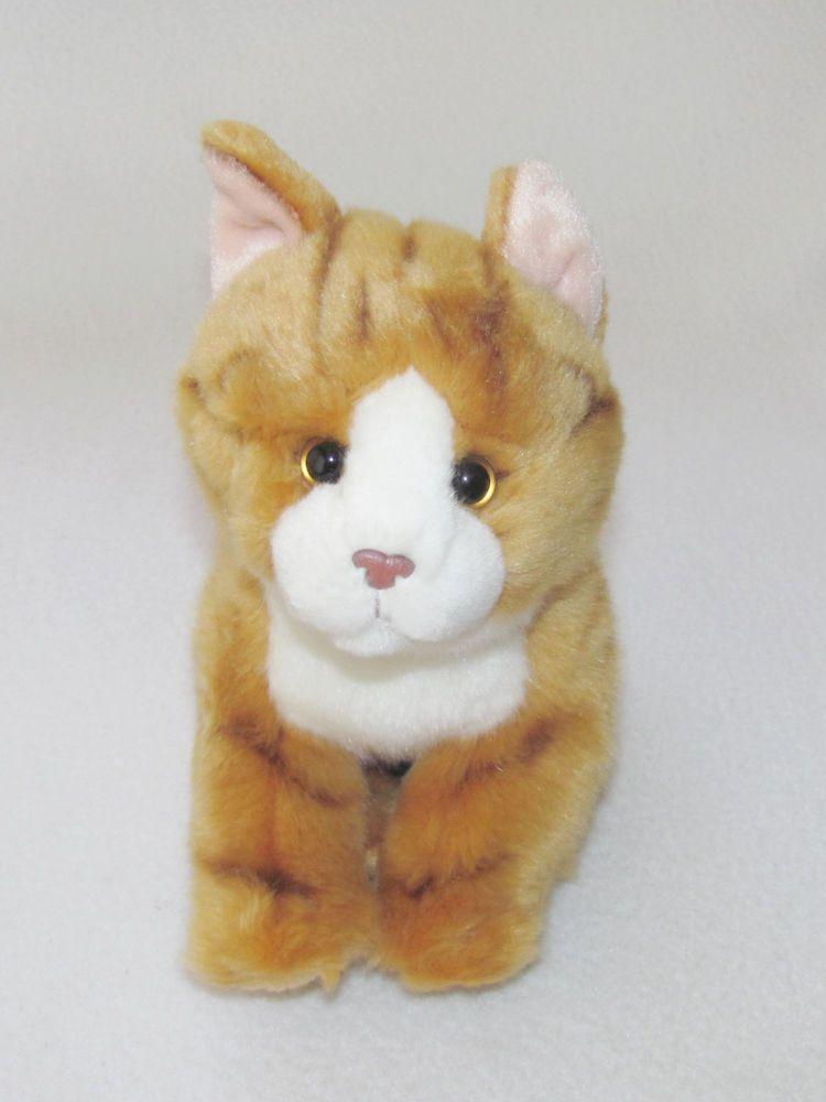 """10x8"""" Toys R Us Orange Striped Tabby Kitty Stripes Cat"""