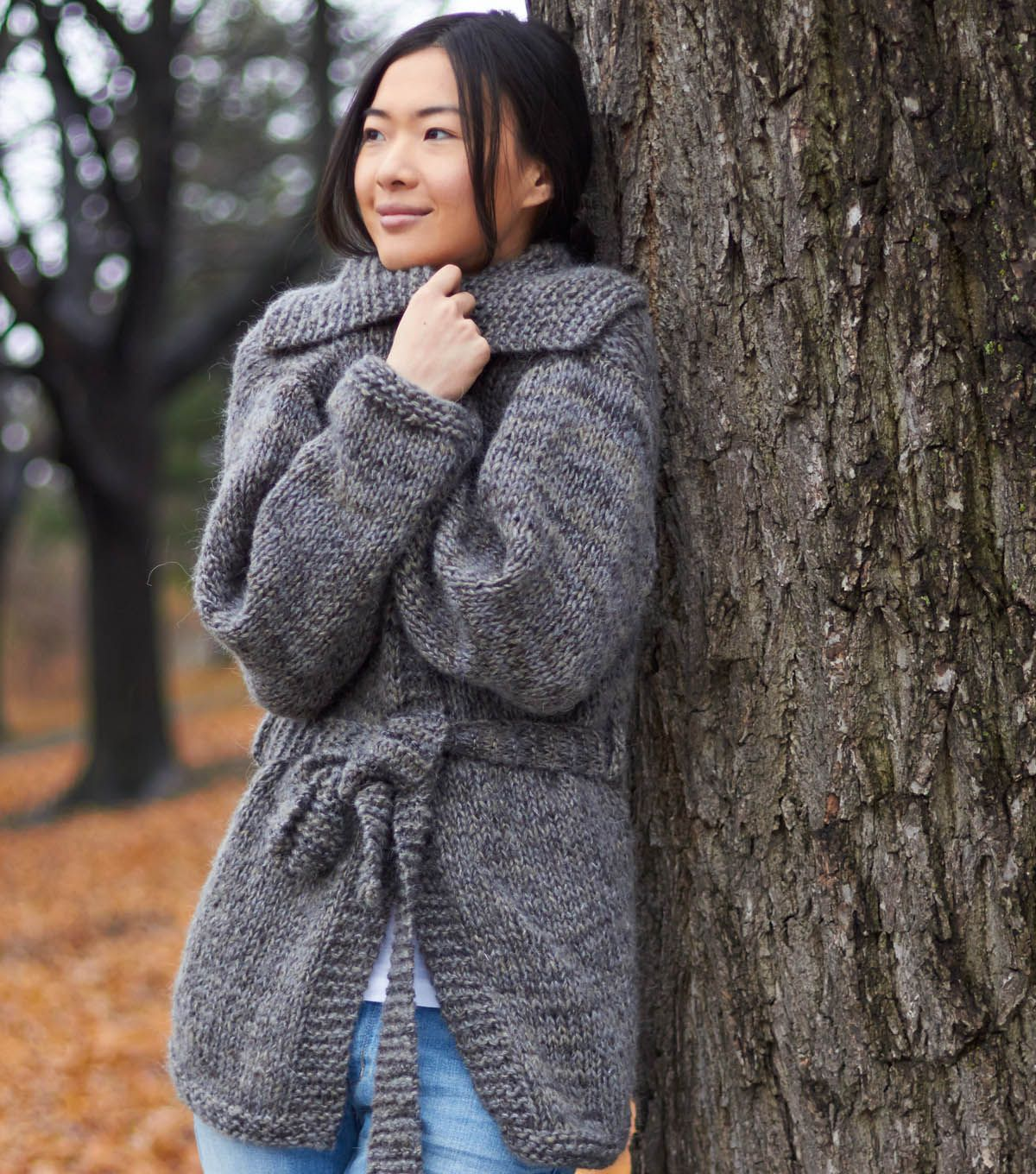 Knit A Simple Sweater : Easy saturday cardigan free knitted pattern joann