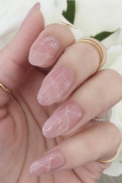 Photo of Fai primavera presto con chiodi pastello in marmo – Spring Nails …