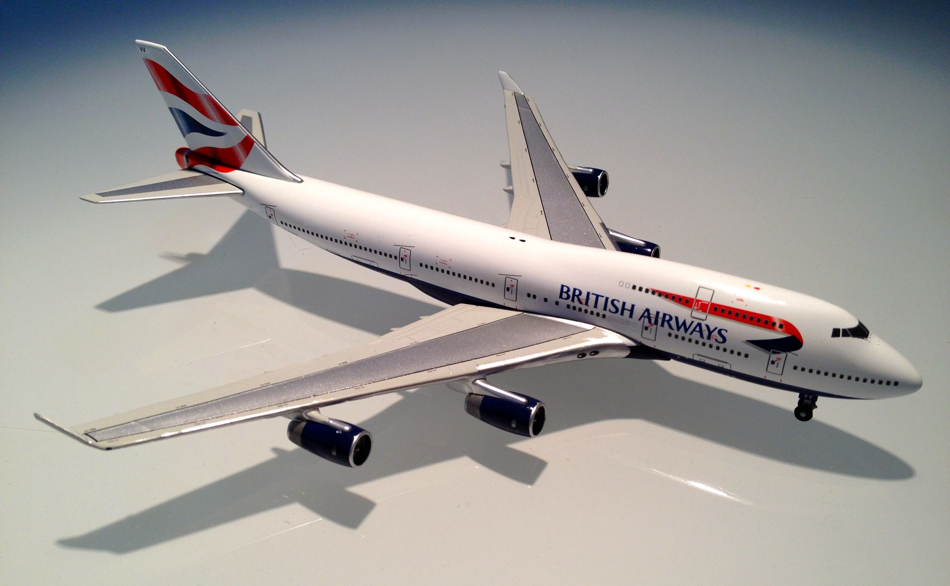 6aa81e299d55 British Airways Boeing 747-400 - Harrods of London - Scenes of London  Collectible - Die Cast Model - 1 500 Scale