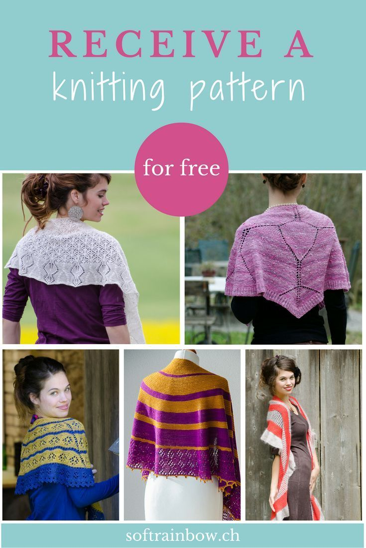 Do you want to try a Soft Rainbow Designs knitting pattern for free ...