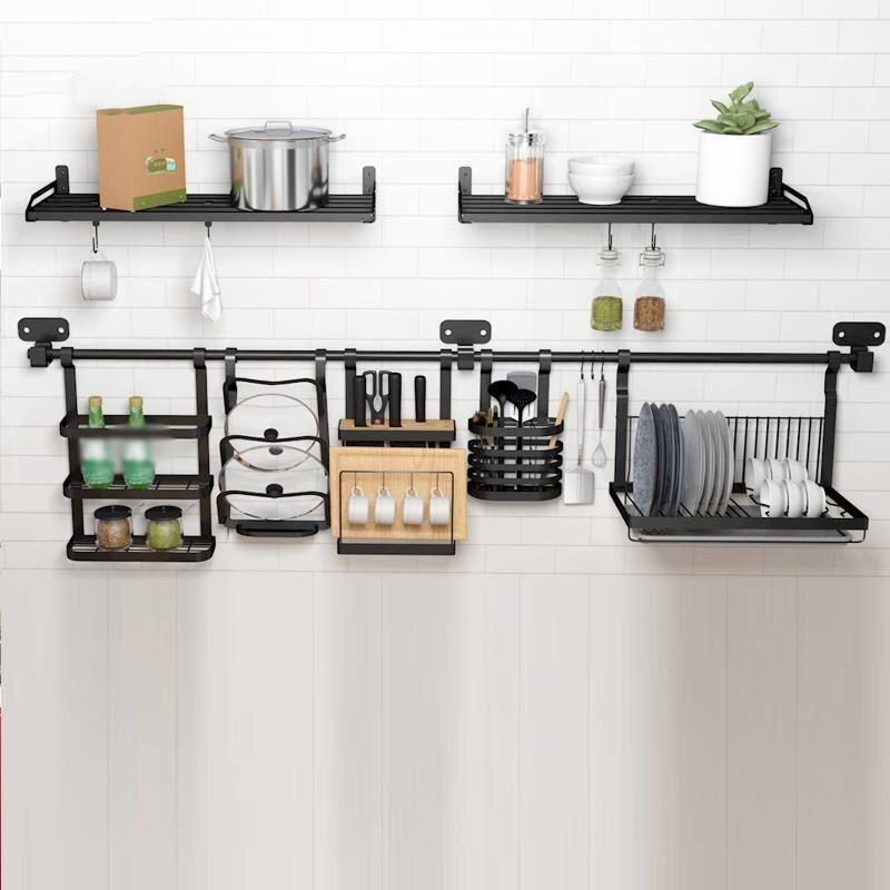 Download Wallpaper White Magic I-hook Kitchen Rack