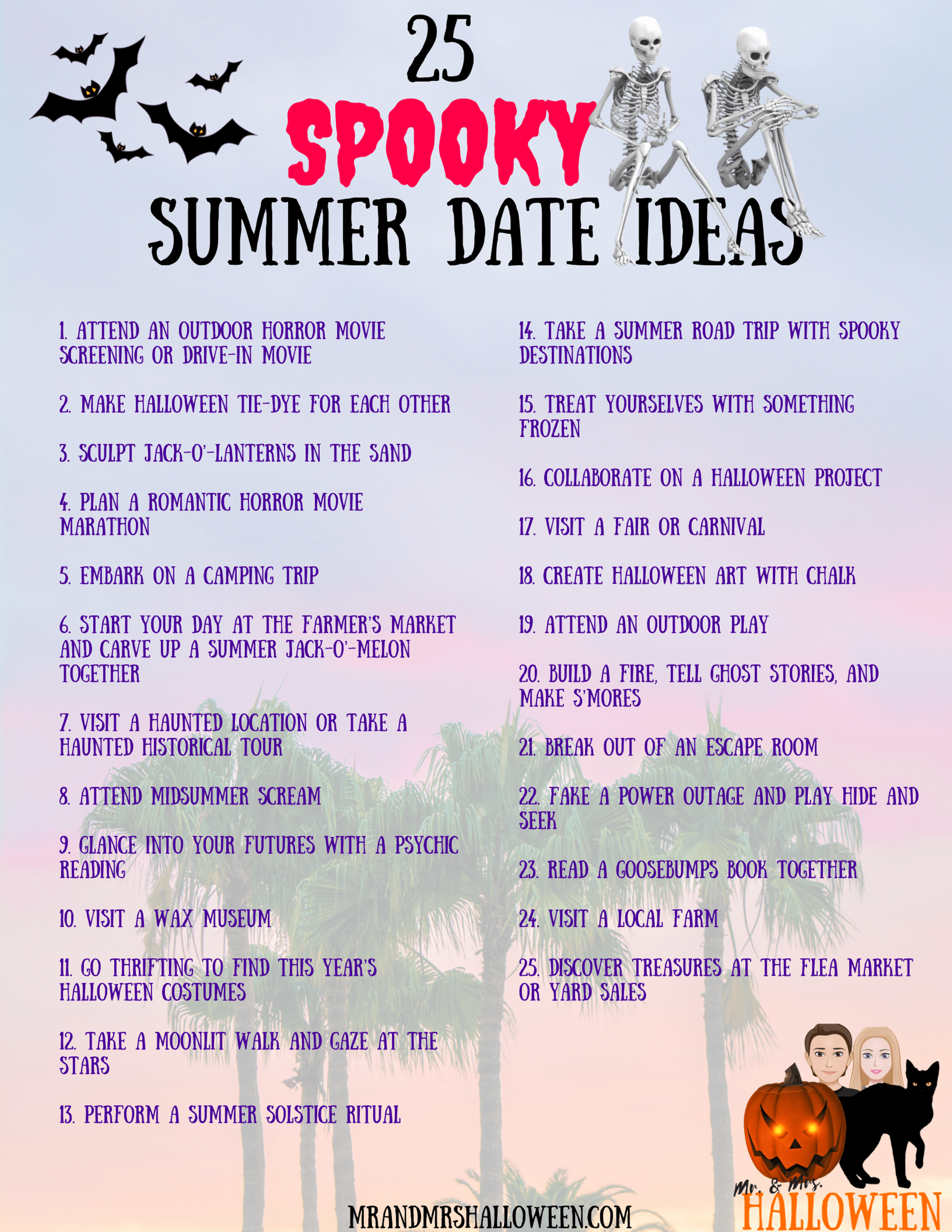 25 of our favorite cheap and easy summer date night ideas