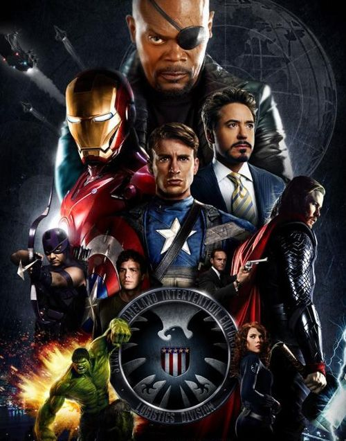 Why is Tony Stark shown twice in this poster? Tiny Star is just too awesome to not I guess;)