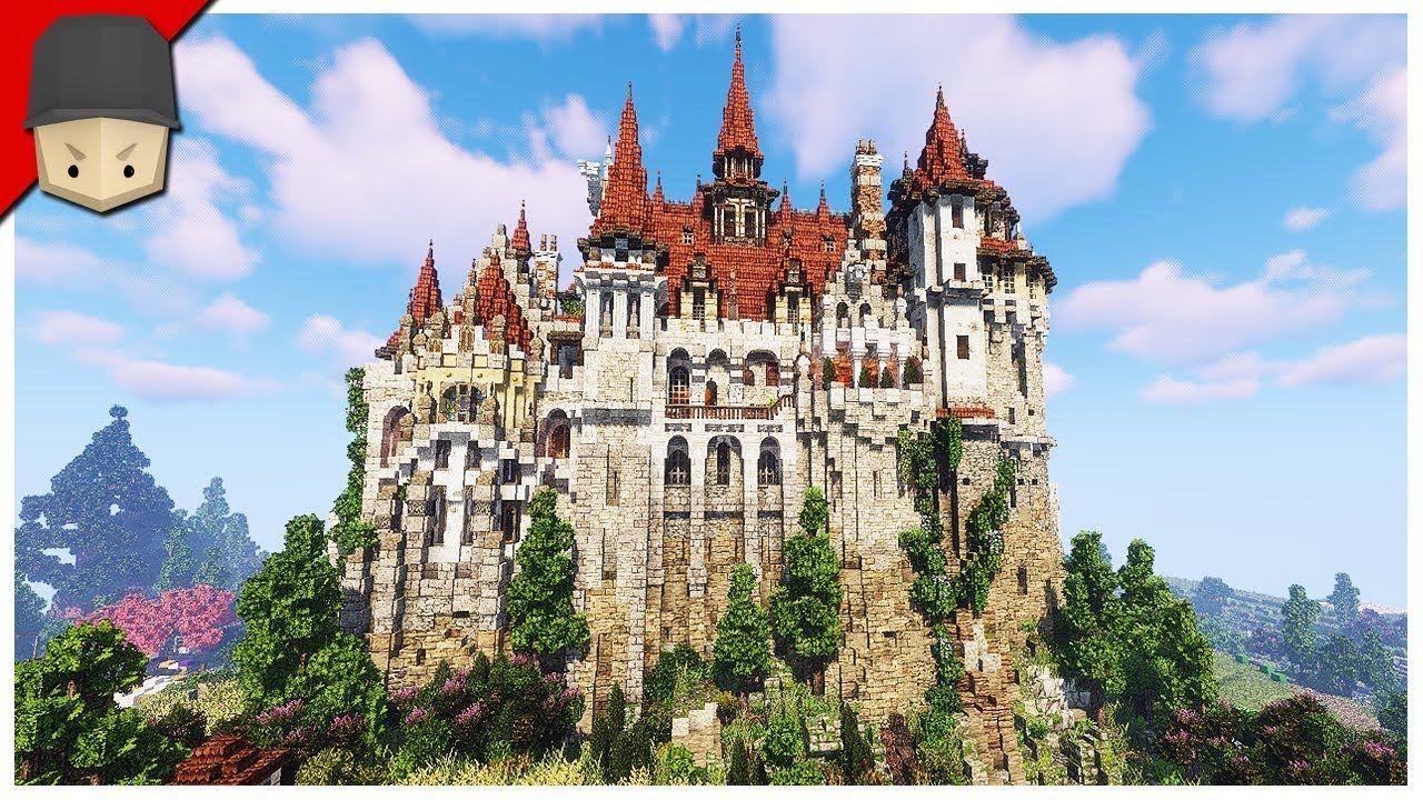 EPIC Minecraft Castle  Minecraft castle, Minecraft castle designs