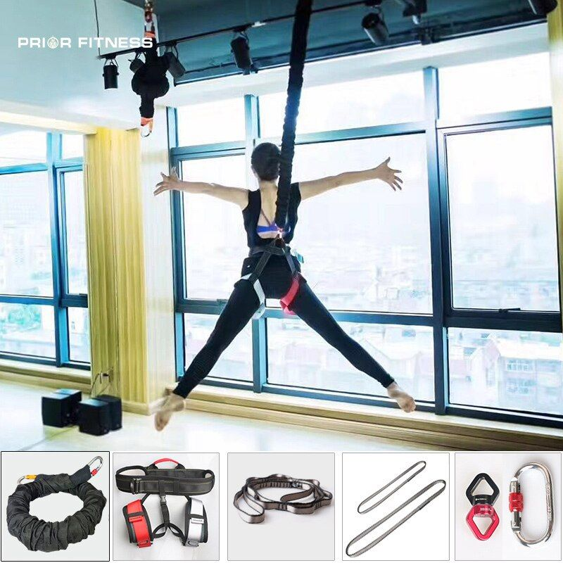 Professional Heavy Bungee Fitness Equipment For Home Gym Yoga Bungee Workout Rope Gravity Bungee 4d Training Pro R Bungee Workout Home Gym No Equipment Workout