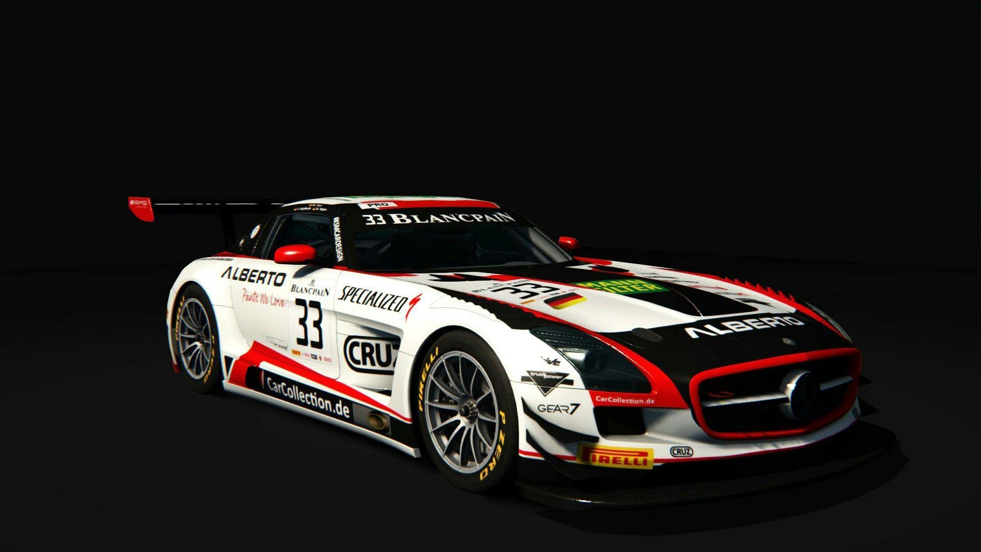 Car Collection Motorsport Mercedes Benz Sls Amg Gt3