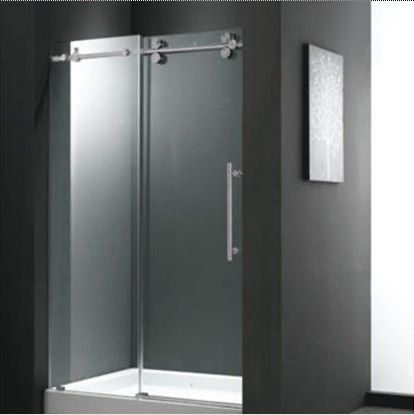 Sliding Door With Images Sliding Shower Door Frameless