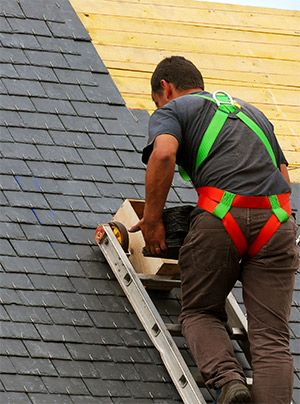 Shingle Roof Repair And Installation Services The Most Popular Type Of Roof Is The Shingle Roof This Materia Roof Repair Roof Repair Cost Best Roofing Company