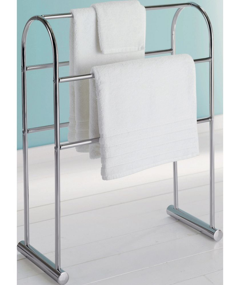 Buy Traditional Curved Towel Rail - Chrome at Argos.co.uk - Your ...