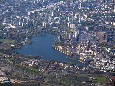 Lac de Créteil — Wikipédia