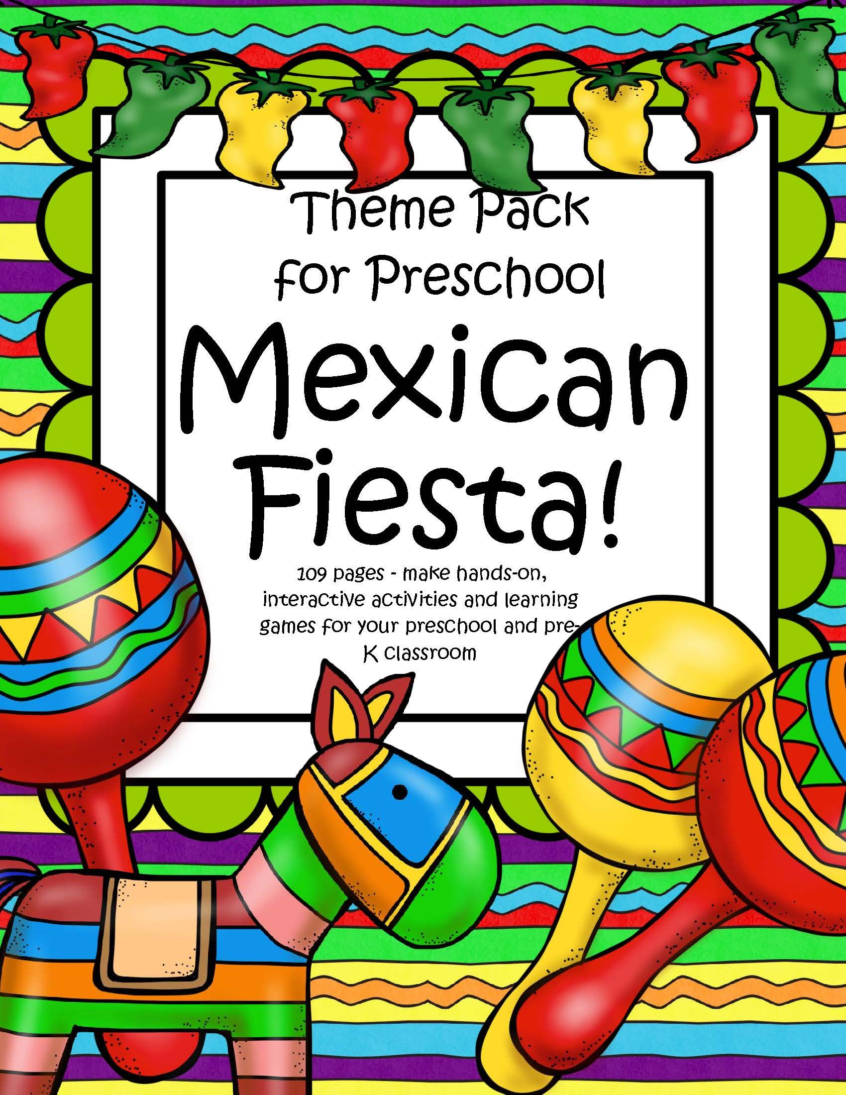 Cinco De Mayo Fiesta Activities Centers And Printables For