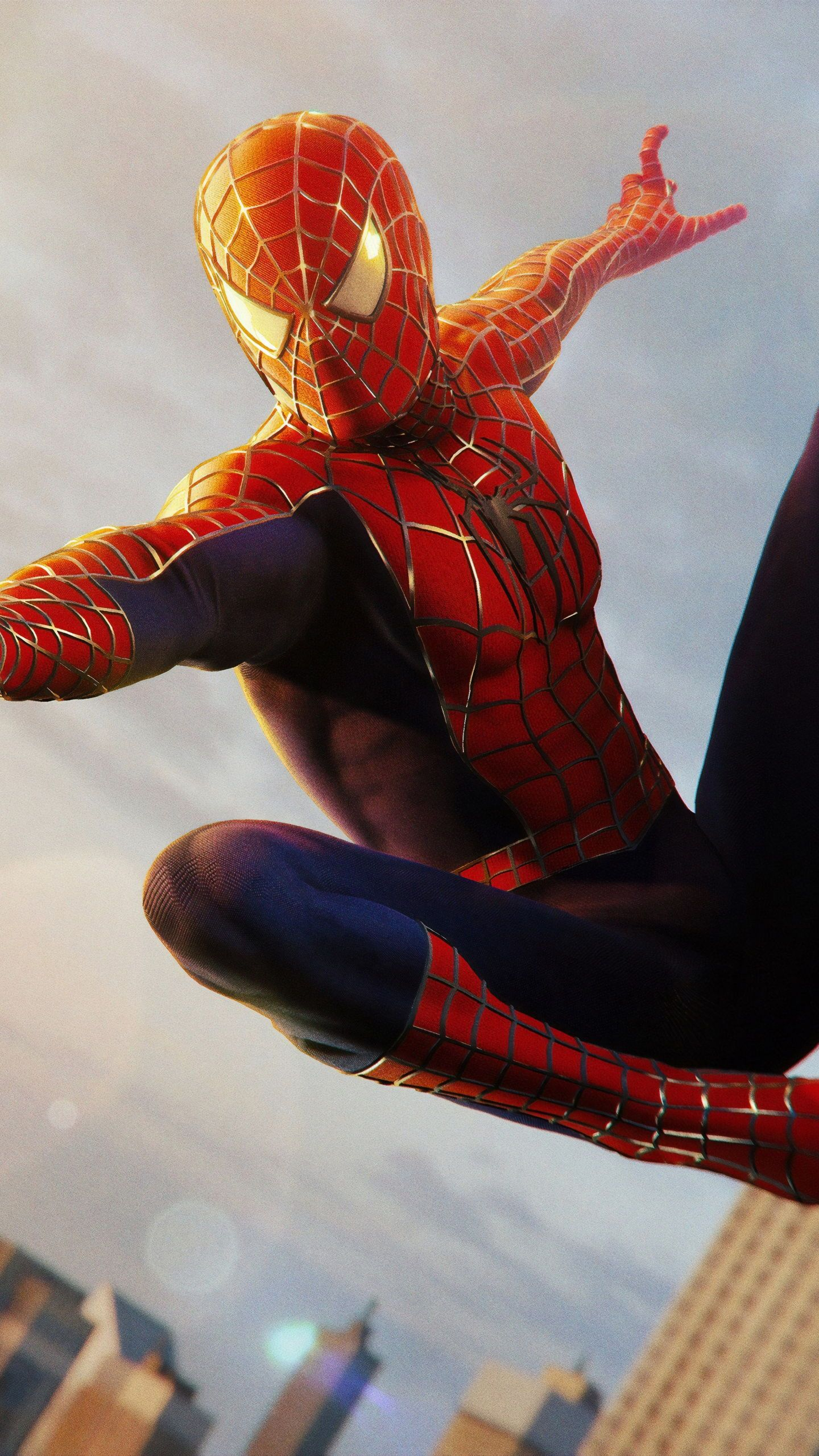 iPhone X 4k Wallpaper Awesome Spiderman blue Hero
