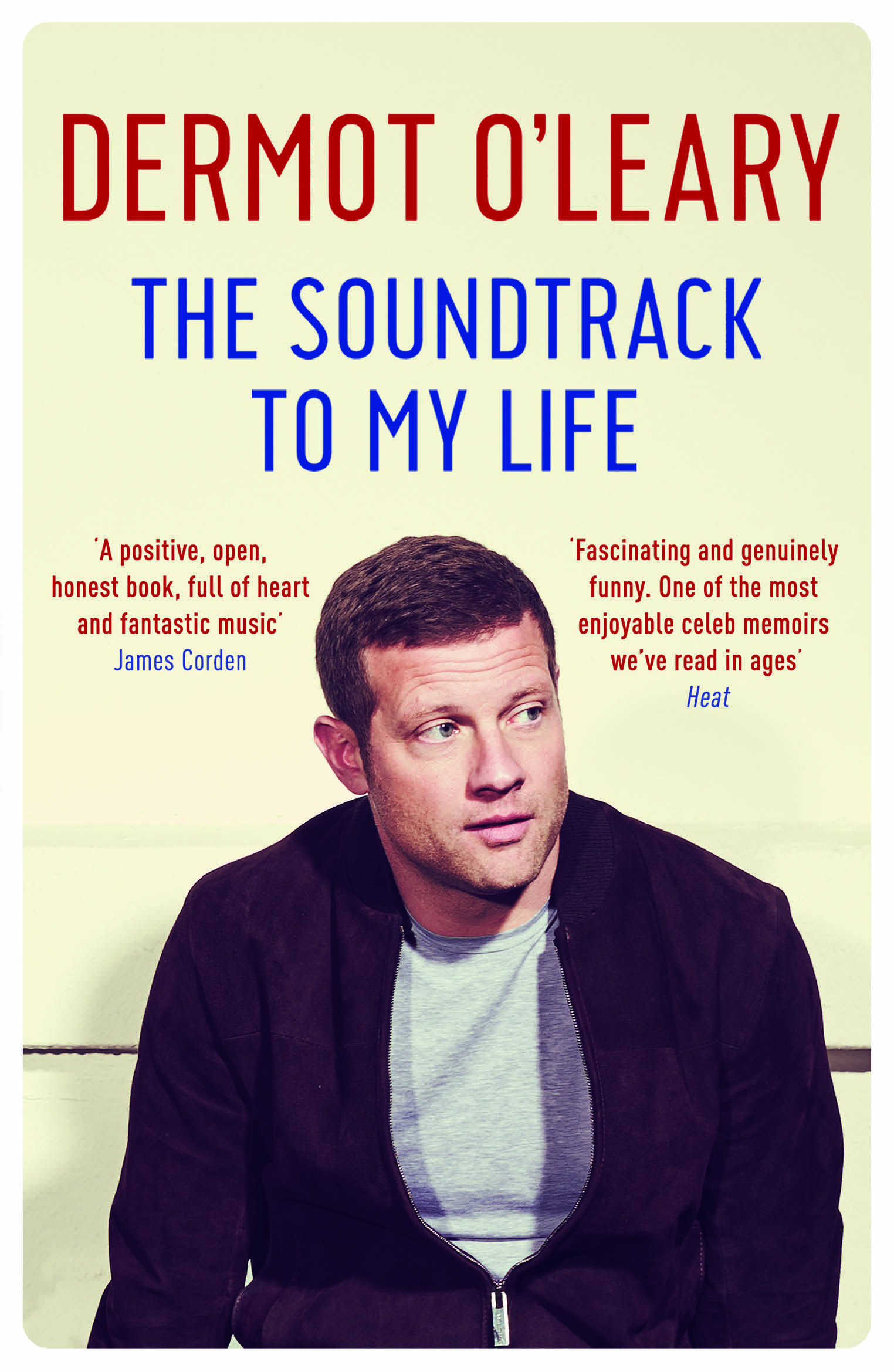 Dermot O Leary The Soundtrack To My Life Book Cover Pb