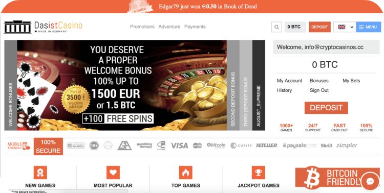 Pin by Crypto Casinos on Crypto Casino Reviews