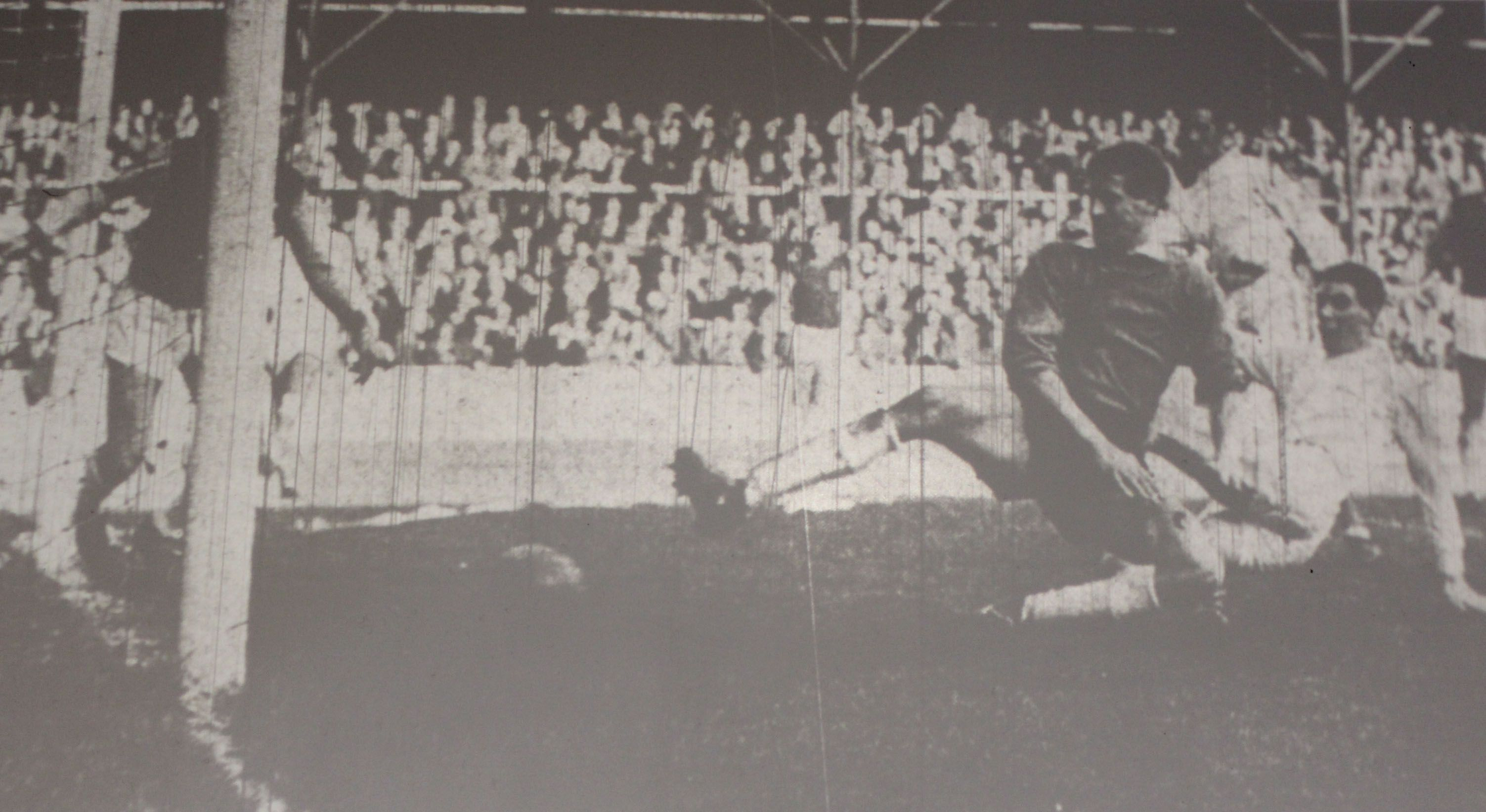 19 October 1963 Barry Rees slides in to score at West Ham
