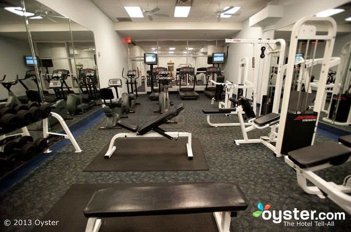Fitness Center At The Rosen Plaza Hotel Orlando Rosen Resorts Hotels Idrive Fitness Gym Recreation Hotel Vacation Hotel Recreation