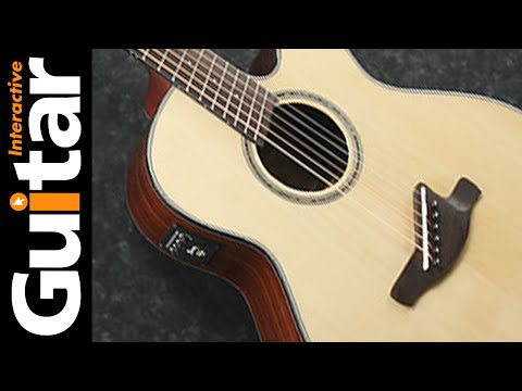 (202) Ibanez Guitar AELFF10NT Acoustic Review - YouTube