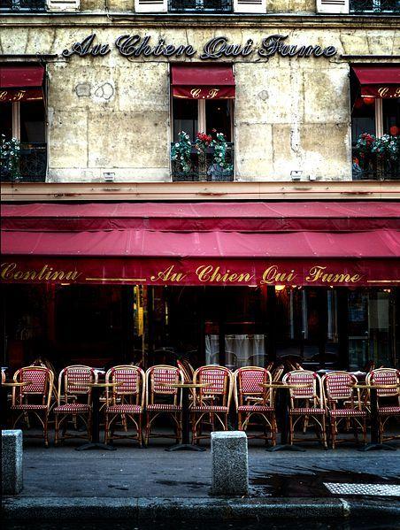Au Chien Qui Fume, Rue du Pont Neuf
