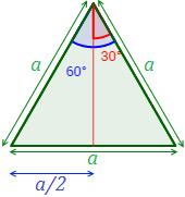 Triangulo Equilatero Con Bisectriz 2 Geometria Plana Geometria Triangulos