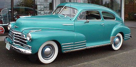 48 Chevy Fleetline Chevrolet Classic Cars Cars