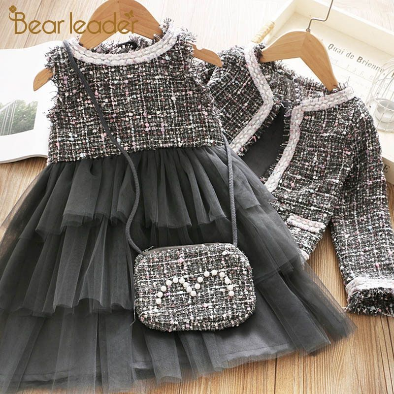 Bear Leader Girls Princess Dress New Brand Party Dresses Kids Girls Clothing Elegant Cute Gir In 2020 Dresses Kids Girl Kids Party Dresses Kids Dress