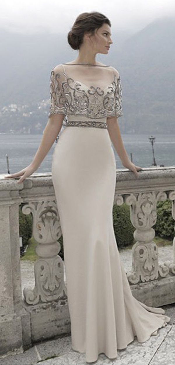 Elegant Evening Gowns for Wedding