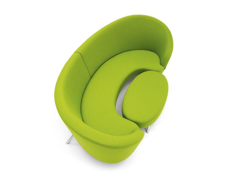 green ORGY sofa : Karim Rashid for Offecct | colour of absinthe ...