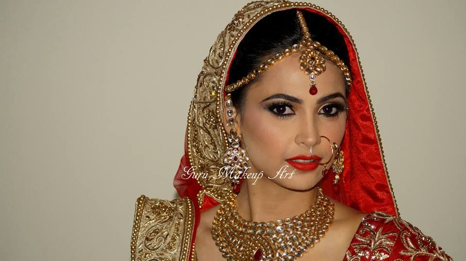 Guru Makeup Artist Is Amongst Delhi S Best Bridal Artists He Has Worked With Make Up Forever Mac Cosmetics