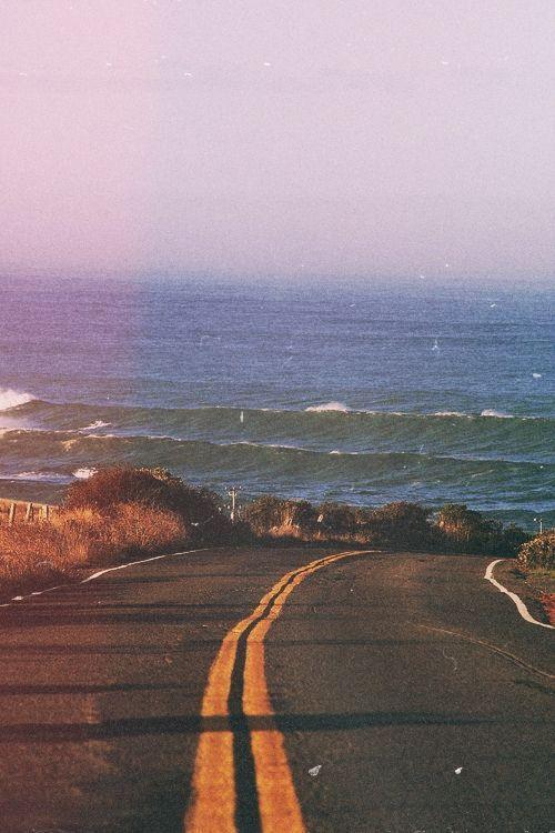 Where the Road meet the Sea<3