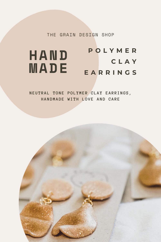 Chimamanda Polymer Clay Earring