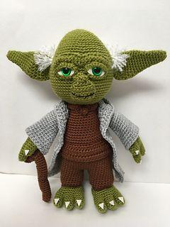 Baby Yoda Amigurumi free pattern | Amigurumi patrones gratis ... | 320x240