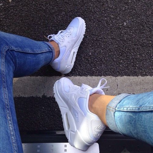 nike blanche air max sneakers chaussure basket shoes