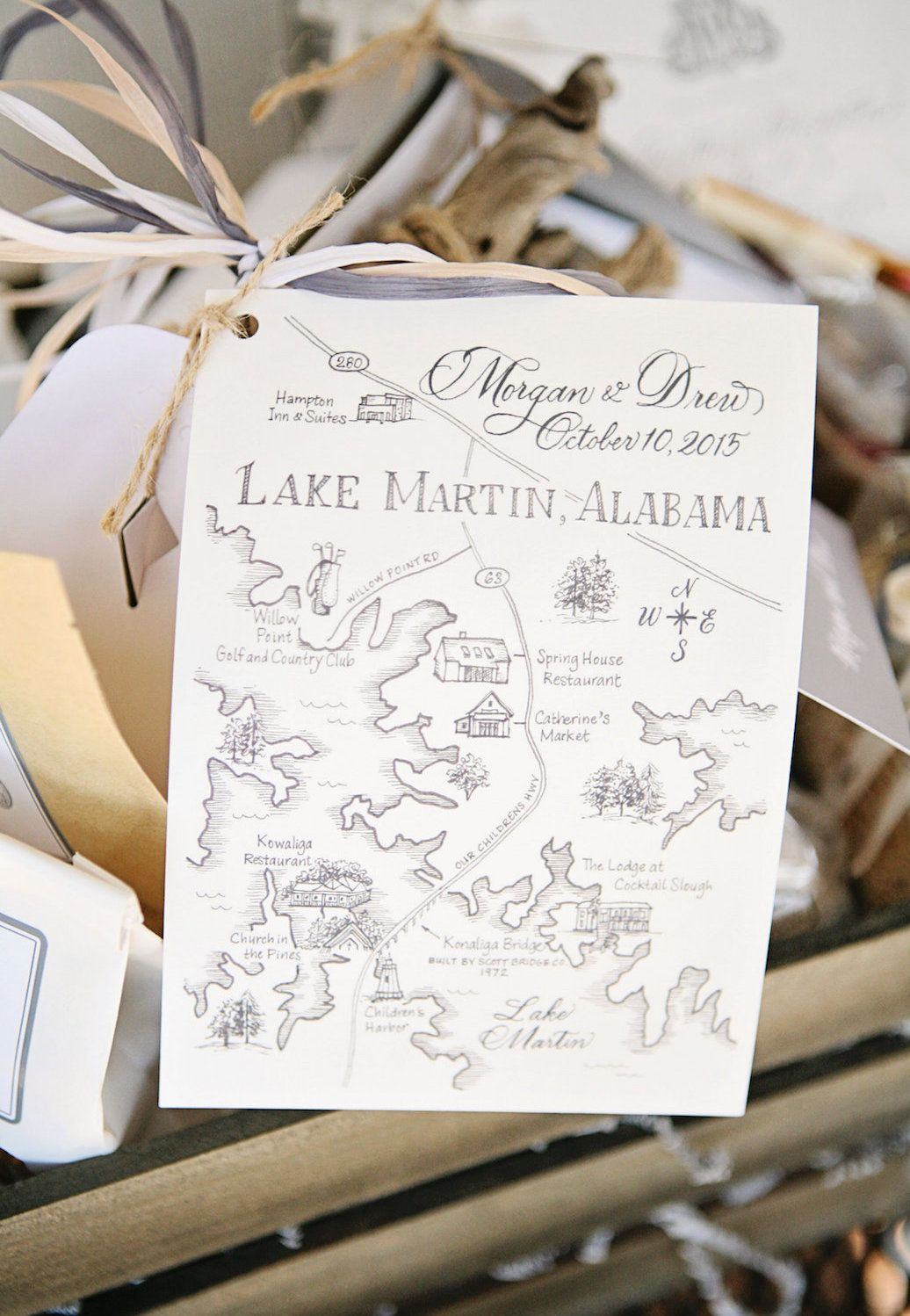 Invision Events fall wedding with Tiffany Hughes Photography at Lake ...