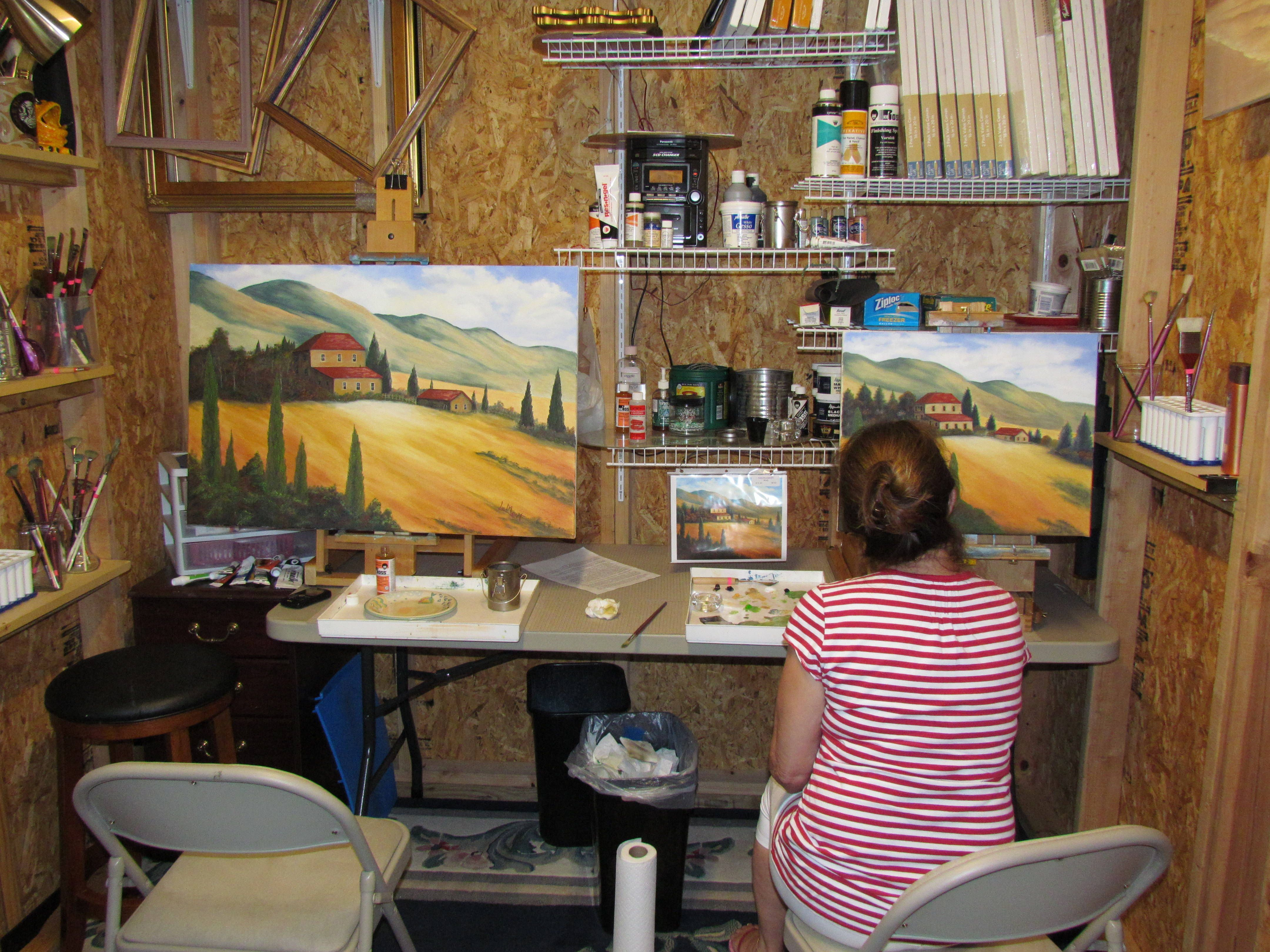 Photo Gallery Inside Artists Studios Art Studio At Home Small