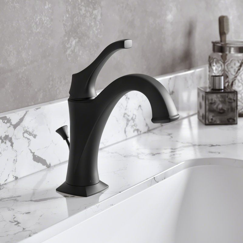 Arlo Single Hole Bathroom Faucet With Drain Assembly Single Handle Bathroom Faucet Bathroom Faucets Single Hole Bathroom Faucet
