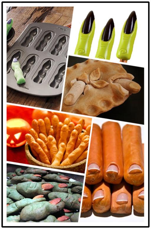 "Funny Halloween ""Finger Food"" Ideas DIY Tag Food"