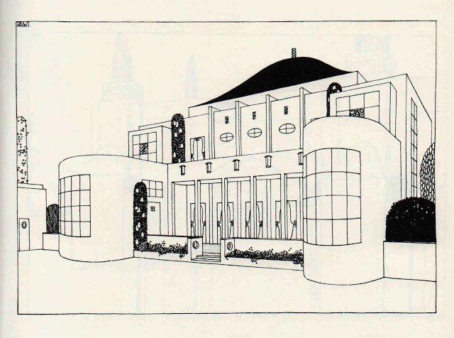 Une cité moderne, Robert Mallet Stevens. Cercle populaire (n° 4)