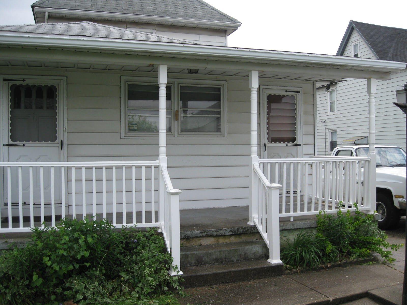 Exterior Severe Weather Railing and Composite Vinyl Porch ...