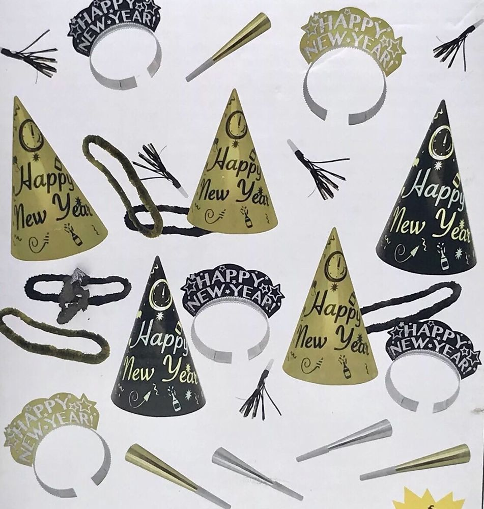 SALE 6.79 New Years Eve Value Party Kit Supplies10