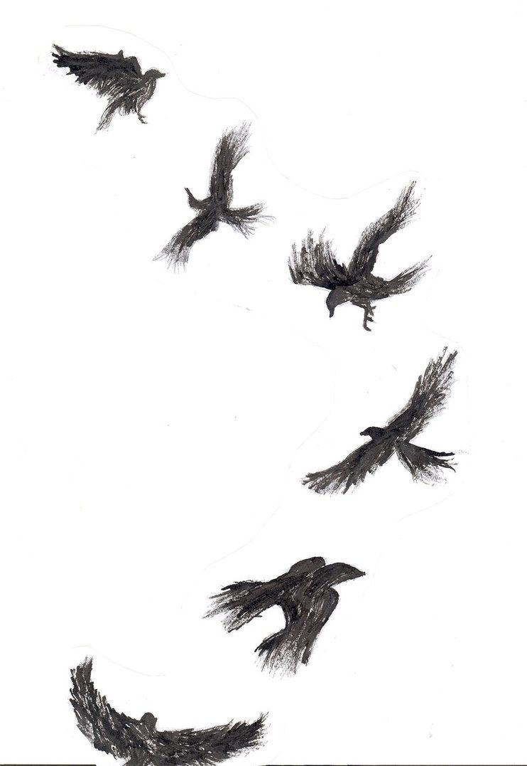 Crow tattoo by kloie heart on deviantart tattoos pinterest crow tattoo meaning biocorpaavc