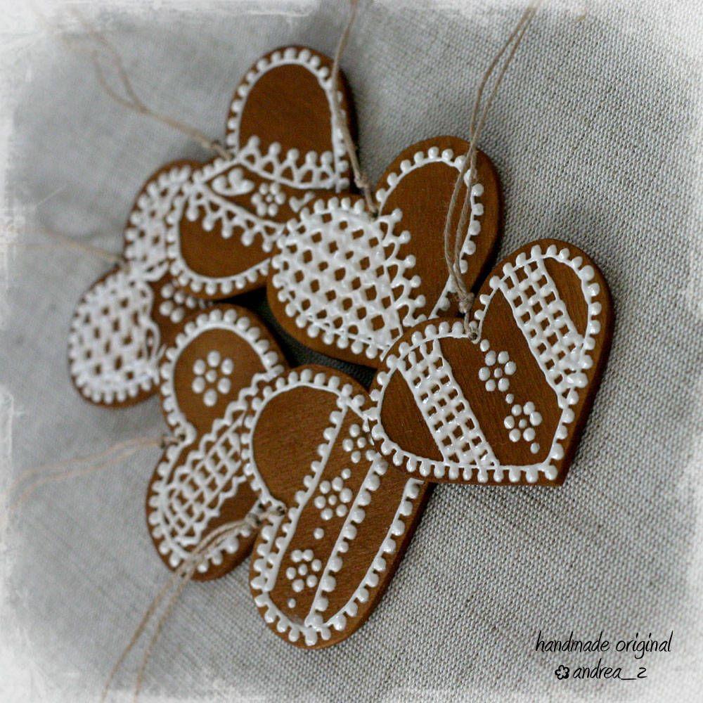 Vianoce - drevené perníčky :-) - 4530901_
