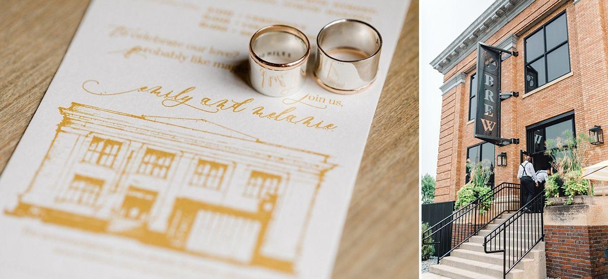Emily Melanie Industrial Wedding Venues Wedding Venues Indoor City Brew