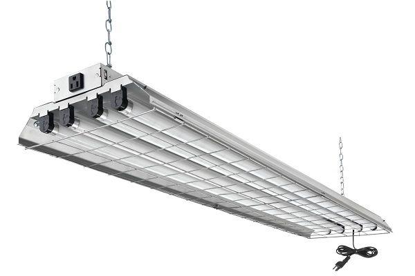 Re 4 Light Garage Lighting Fluorescent Light Fixture Led Shop Lights Fluorescent Light